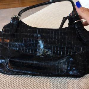 Maxx N.Y. black handbag - beautiful satin lining